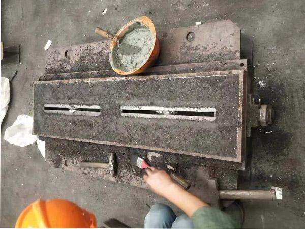 浙江某铜业铸造公司耐火捣打料施工案例